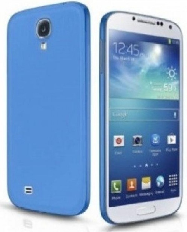 COVER RIGIDA S4 (HD-COVER-025) AZZURRO