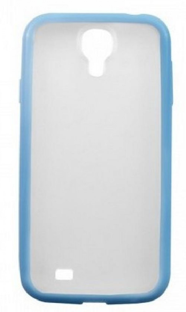 COVER RIGIDA S4 (HD-COVER-028) SILICONE AZZURRA