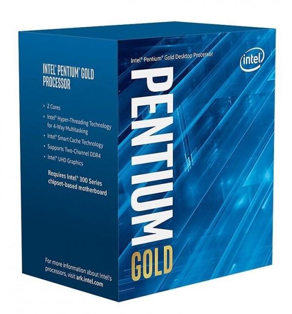CPU PENTIUM GOLD G5400 1151 BOX 3.7 GHZ (BX80684G5400)