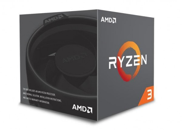 CPU RYZEN 3 1200 AM4 BOX 3.1 GHZ