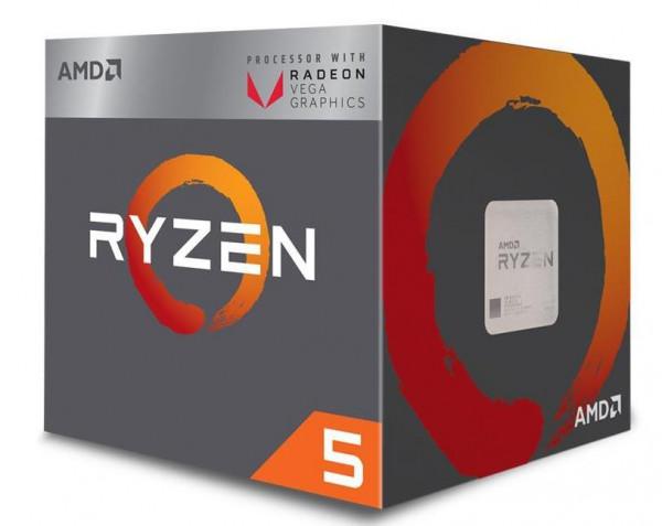 CPU RYZEN 5 2400G AM4 BOX 3.6 GHZ