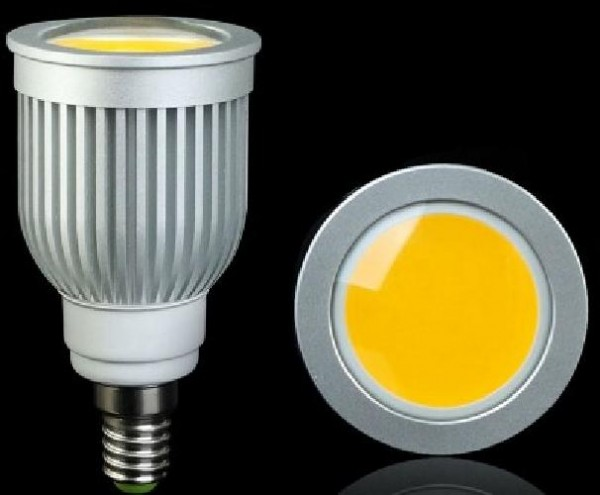 FARETTO A LED 7W LUCE FREDDA E14 (1L7WE14-LF)