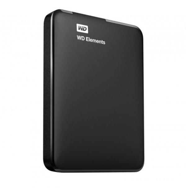 HARD DISK 1 TB ESTERNO ELEMENTS USB 3.0 2,5 NERO AUTOALIMENTATO (WDBUZG0010BBK-WESN)