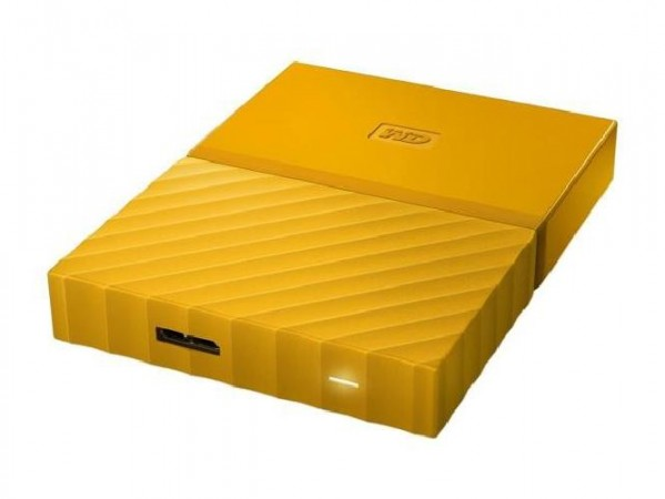 HARD DISK 1 TB ESTERNO MY PASSPORT USB 3.0 2,5 GIALLO (WDBYNN0010BYL-WESN)