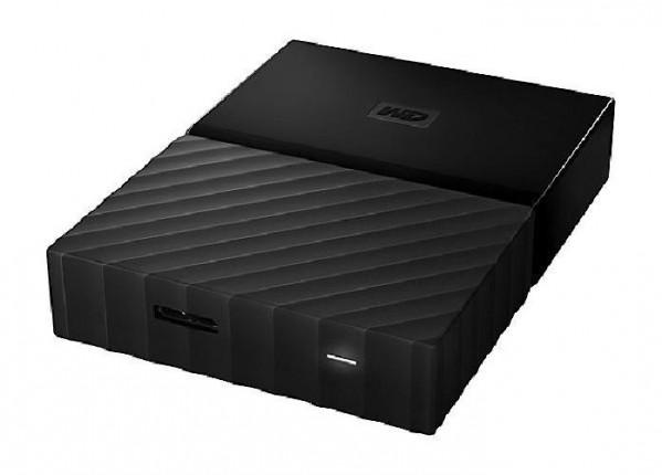 HARD DISK 1 TB ESTERNO MY PASSPORT USB 3.0 2,5 NERO (WDBYNN0010BBK-WESN) RICONDIZIONATO