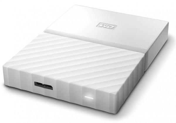 HARD DISK 2 TB ESTERNO MY PASSPORT USB 3.0 2,5 BIANCO (WDBS4B0020BWT-WESN)