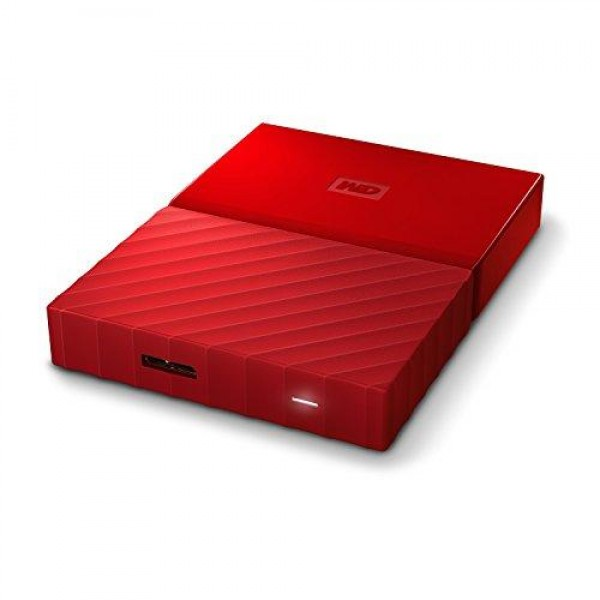 HARD DISK 2 TB ESTERNO MY PASSPORT USB 3.0 2,5 ROSSO (WDBS4B0020BRD-WESN)