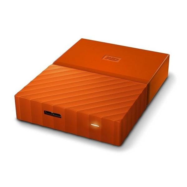 HARD DISK 2 TB ESTERNO MY PASSPORT USB 3.0 2,5 ARANCIONE (WDBYFT0020BOR-WESN)