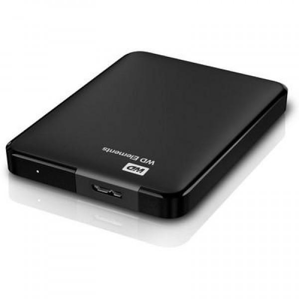 HARD DISK 750 GB ESTERNO ELEMENTS USB 3.0 2,5 NERO AUTOALIMENTATO