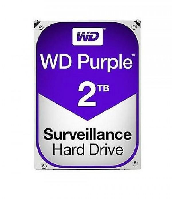 HARD DISK PURPLE 2 TB SATA 3 3.5 (WD20PURZ)