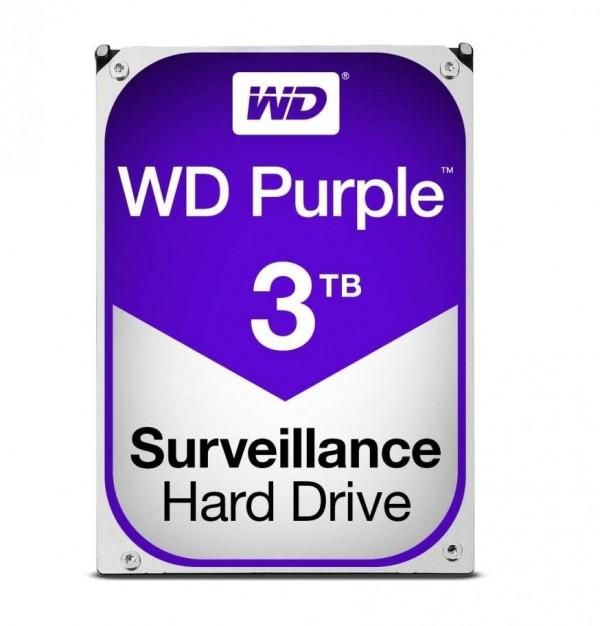 HARD DISK PURPLE 3 TB SATA 3 3.5 (WD30PURZ)