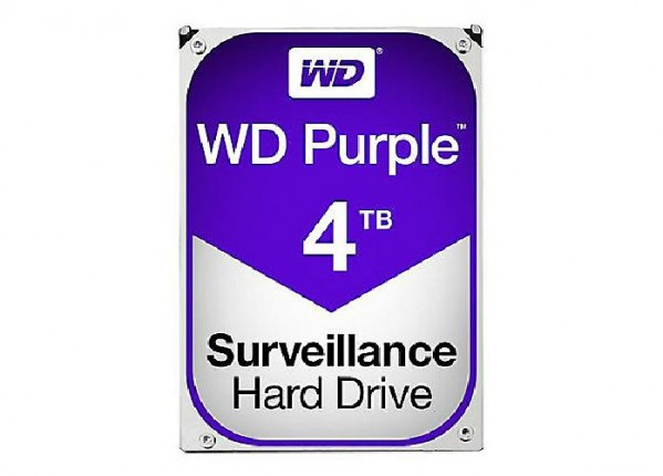 HARD DISK PURPLE 4 TB SATA 3 3.5 (WD40PURZ)