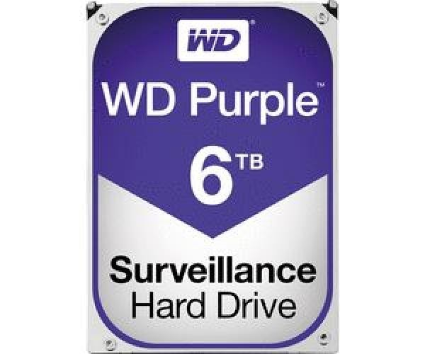 HARD DISK PURPLE 6 TB SATA 3 3.5 (WD60PURZ)