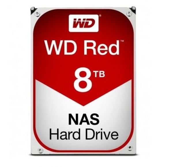 HARD DISK RED 8 TB SATA NASWARE (WD80EFAX)