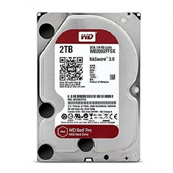 HARD DISK RED PRO 2 TB SATA NASWARE (WD2002FFSX)