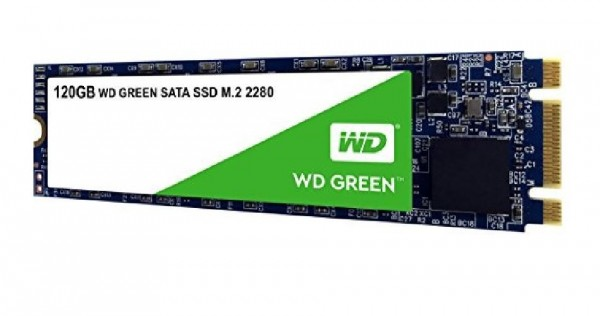 HARD DISK SSD 120GB GREEN M.2 (WDS120G2G0B)