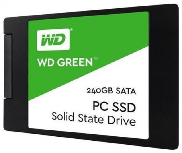 HARD DISK SSD 240GB GREEN SATA 3 2.5 (WDS240G2G0A)