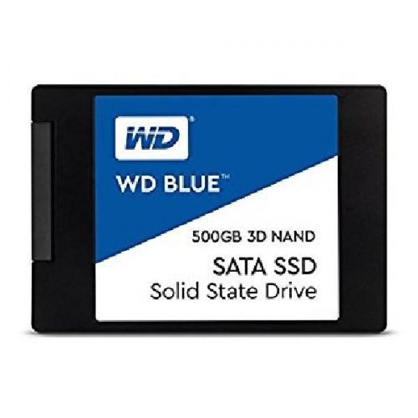 HARD DISK SSD 500GB BLUE 3D SATA 3 2.5 (WDS500G2B0A)