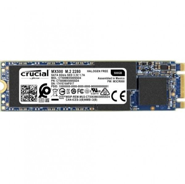 HARD DISK SSD 500GB MX500 M.2 (CT500MX500SSD4)
