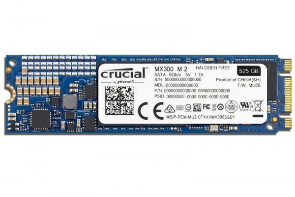 HARD DISK SSD 525GB MX300 M.2 (CT525MX300SSD4)