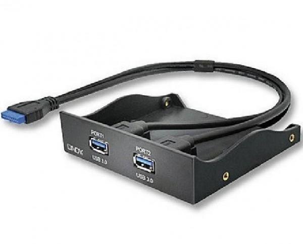 HUB 2 PORTE USB 3.0 INTERNO 3,5 (43134)