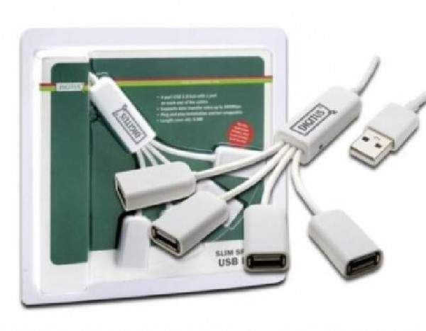 HUB ESTERNO 4 PORTE USB (DA70216)