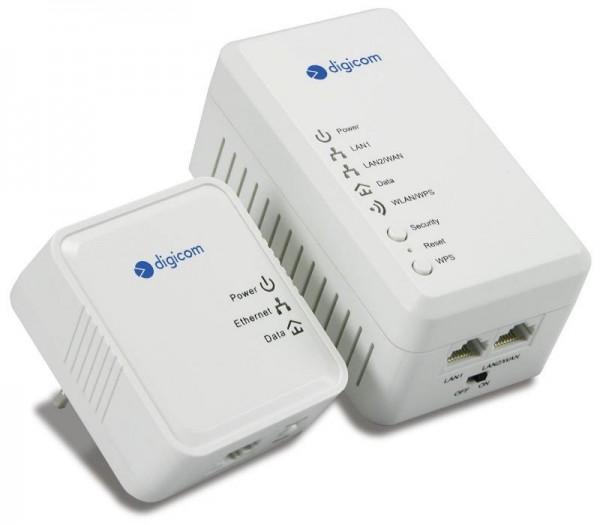 KIT ADATTATORE DI RETE POWERLINE PL500WK-A01 500 MBPS (8E4561)