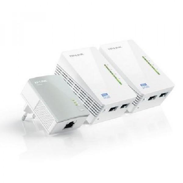 KIT POWERLINE TRIO 300 MBPS TL-WPA4220TKIT