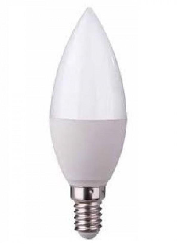 LAMPADA LED CANDELA E14 6W LUCE FREDDA 6000K (DYA-015)