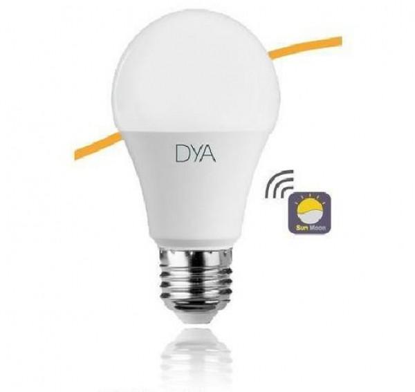 LAMPADA LED GOCCIA E27 10W LUCE FREDDA 6000K SENSORE CREPUSCOLARE (DYA-245)
