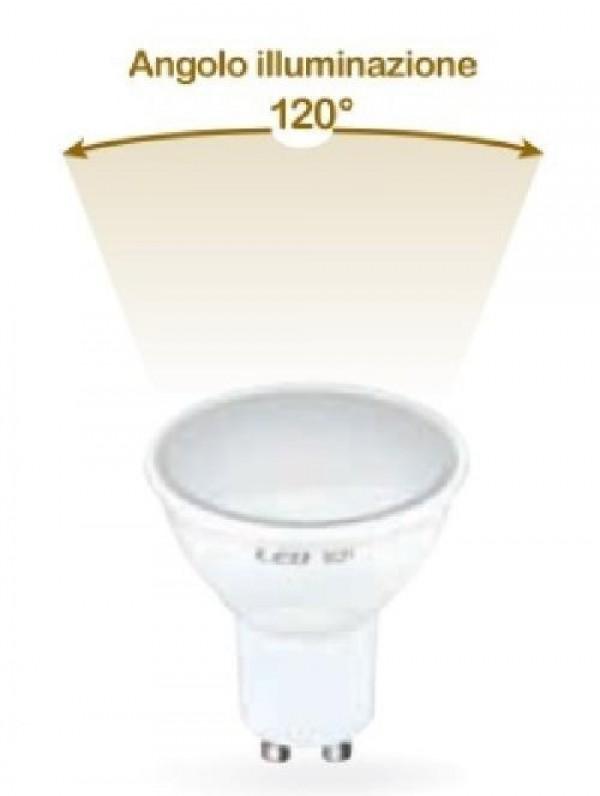 LAMPADA LED GU10 E27 6W FREDDA 6500K (E2638F)