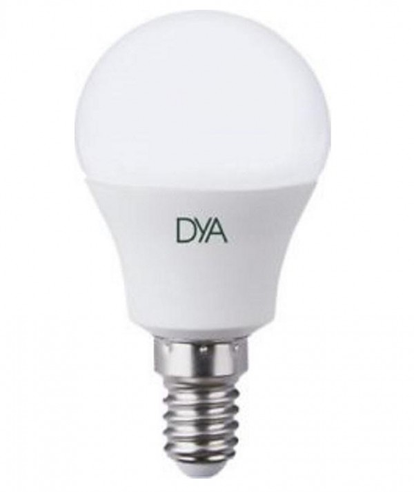 LAMPADA LED SFERETTA E14 4W LUCE FREDDA 6000K (DYA-018)