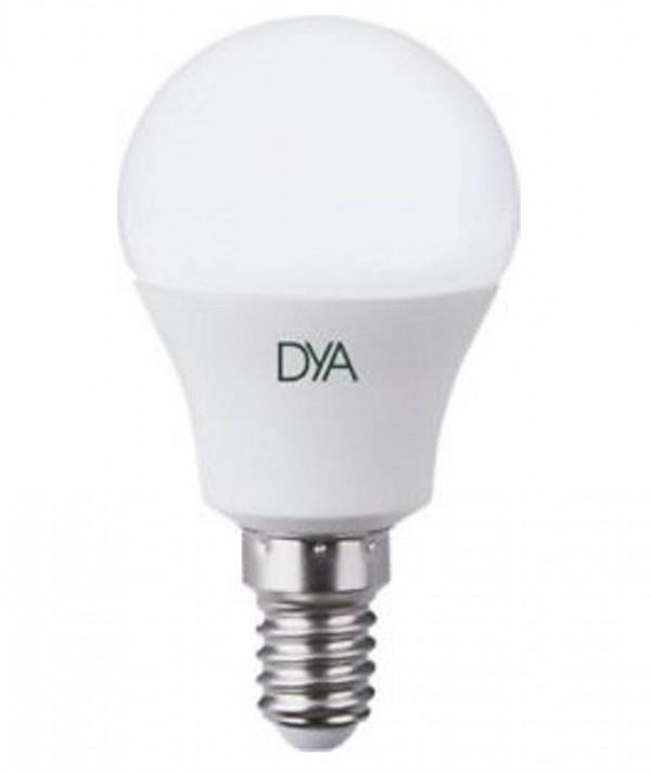 LAMPADA LED SFERETTA E14 6W LUCE CALDA 3000K (DYA-019)