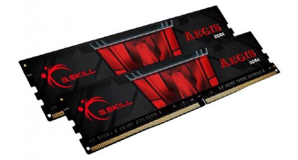 MEMORIA DDR4 32 GB AEGIS PC3200 MHZ (2X16) (F4-3200C16D-32GIS)
