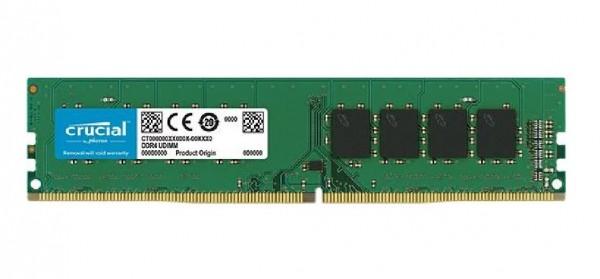 MEMORIA DDR4 4 GB PC2400 MHZ (1X4) (CT4G4DFS824A)