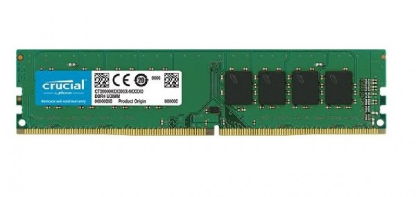 MEMORIA DDR4 8 GB PC2400 MHZ (1X8) (CT8G4DFD824A)