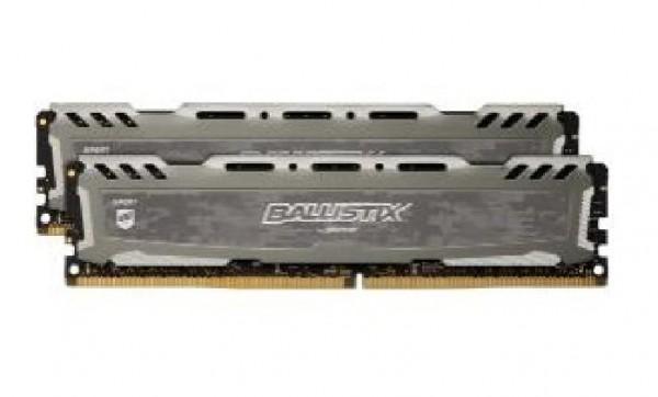 MEMORIA DDR4 BALLISTIX SPORT 16 GB PC2400 MHZ (2X8) (BLS2C8G4D240FSB)