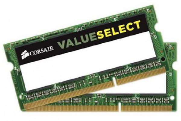 MEMORIA SO-DDR3 8 GB PC1600 MHZ (2x4) (CMSO8GX3M2A1600C11)