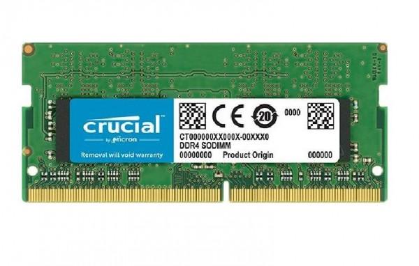 MEMORIA SO-DDR4 4 GB PC2133 (1X4) (CT4G4SFS8213)