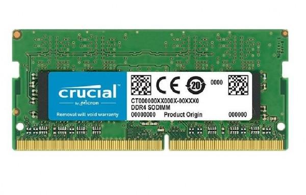 MEMORIA SO-DDR4 8 GB PC2666 (1X8) (CT8G4SFS8266)