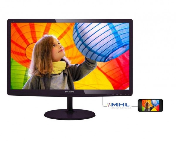 MONITOR 22 227E6LDSD LED FULL HD