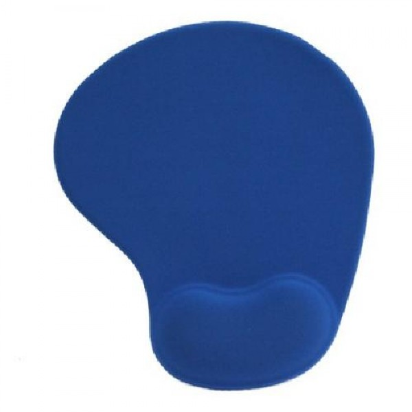 MOUSE PAD MP-02B ERGONOMICO BLU