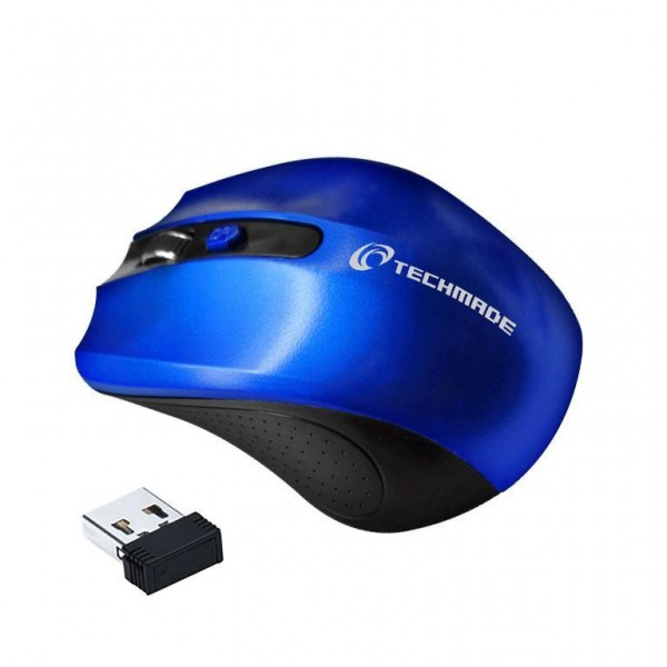MOUSE TM-XJ30-BL BLU WIRELESS