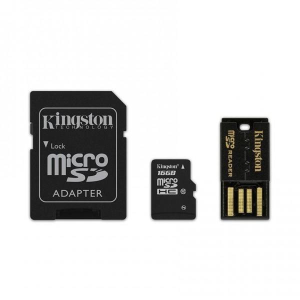 MULTI KIT 16 GB TRANS FLASH (MBLY10G216GB) CLASS 10