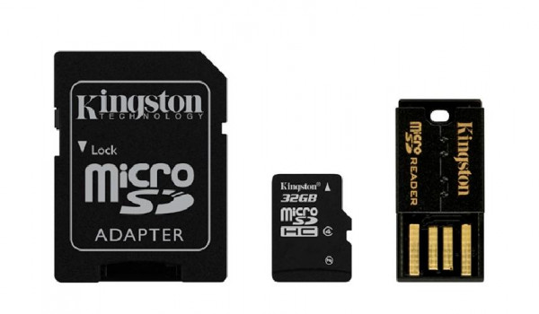 MULTI KIT 32 GB TRANS FLASH CLASS 4 (MBLY4G232GB)