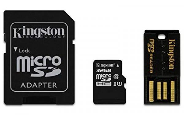 MULTI KIT 32 GB TRANS FLASH (MBLY10G232GB) CLASS 10