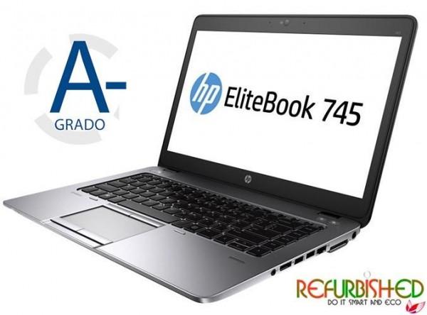 NOTEBOOK ELITEBOOK 745 AMD A8PRO-7150B 14 WINDOWS 10 - RICONDIZIONATO - GAR. 12 MESI