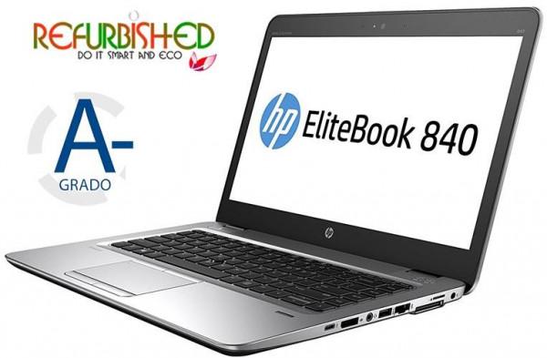 NOTEBOOK ELITEBOOK 840 G3 INTEL CORE I5-6300U 14 WINDOWS 10 PRO - RICONDIZIONATO - GAR. 12 MESI