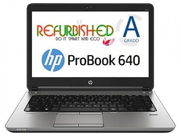 NOTEBOOK PROBOOK 640 G1 INTEL CORE I5-4200M 14 WINDOWS 7 - RICONDIZIONATO - GAR. 12 MESI