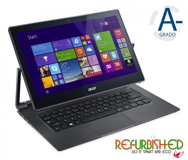 NOTEBOOK TABLET ASPIRE R7-371T INTEL CORE I5-5200U 13.3 WINDOWS 10 - RICONDIZIONATO - GAR. 6 MESI